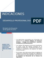 INDICACIONES PRESENTACION MINISTRA. 18.08 2015.pptx