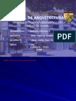 Analisis Urbanistico - Huanuco