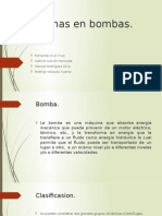 Problemas en Bombas