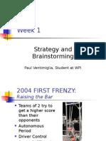 2008FRC Brainstorming Ventimiglia