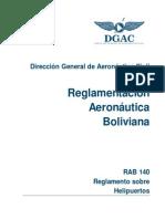 RAB_140 Reglamento Helipuertos