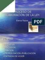Elaboración de La Ley Ppt (1)