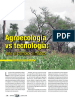 Agroecologia vs Tecnologia