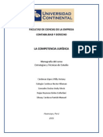 Monografia de La Competencia