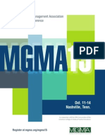 MGMA15 Brochure