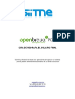 Open Bravo Manual Pos