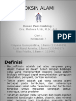 Presentation1 Toksik Alami