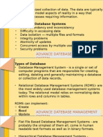 Advance Database