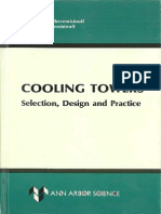 Cooling Towers Selection, Design and Practice