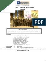 INFORME FINAL PROYECCIÓN SOCIAL UCCI