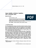 Linear Stability of Relative Equilibria