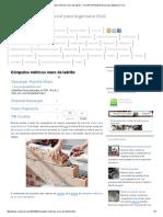 Cómputos Métricos Muro de Ladrillo _ Civil Excel_Planillas Excel Para Ingeniería Civil