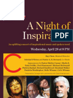 A Night of Inspiration at Carnegie