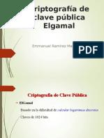 Cifrado Elgamal