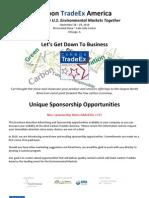 Carbon Trade Ex Unique Sponsorship Prospectus