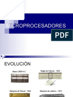 Primera Clase Microprocesadores