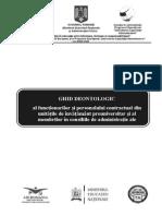 Ghid 4 Deontologie Personal