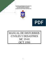 Manual de Disturbios Civiles.