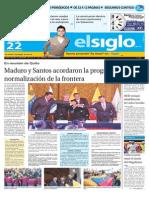 Edición Impresa El Siglo 22-09-2015