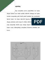 Proses Elektroplating