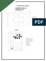 Estudio de Areas arquitectonicas