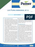 Lectura Semanal 6 Filosofía
