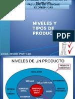 Clase 8 - Nivel, Tipos y Clasificacion de Productos