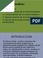 Motoniveladora Exposicion Caminos II