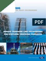 BORSIG Process Heat Exchanger - Transfer Line Exchangers