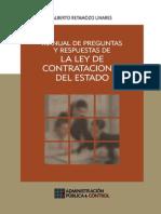 Manual de Preguntas y respuestas  de La Ley de Contrataciones Del Estado del Perú- Alberto Retamozo Linares