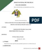 Metodología Plan Ergonómico Proyecto Final