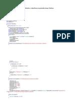 Procedimientos y Algoritmos Programados Juego ChaKana