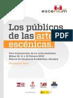 Los Publicos de Las Artes Escenicas