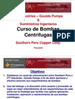 Curso Bombas Centrifugas Aplicacion Instalacion Operacion Mantenimiento Bombeo