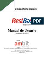 Manual de Rest Bar