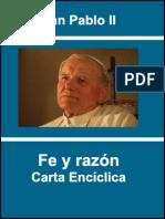 Carta Enciclica Fides Et Ratio - Juan Pablo II