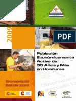 Poblacion Economicamente Activa de 35 Anos y Mas en Honduras