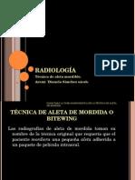 Radiologia de Aleta Mordible
