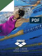 Arena USA SS 2016 catalog
