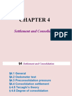 Chapter 4 Settlement and Consolidation