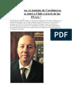 """La Cocaína Entró a Chile a Través de Las FF.aa."""