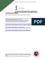 Blockade of Adenosine Diphospate