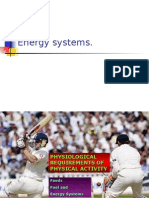 Energy Systems Slide Show