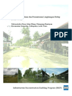 UKL-UPL Jalan Blang Glumpang-Bantayan