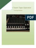 Vcc Tech Team Orientation Tape Operator - Rehearsal