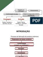 FABRICAÇÃO MATERIAIS CERÂMICOS