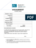 Assignment Cover Page (14)