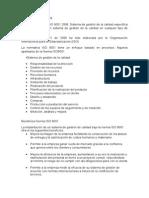 Norma ISO 9001 DE CALIDAD