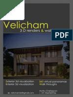 Velicham3D Portfolio