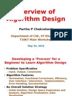 Overview of Algorithm Design
